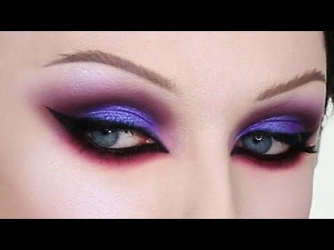 Purple Eyeshadow Tutorial | John Maclean