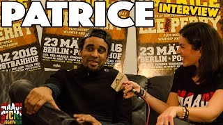 Interview with Patrice @ Reggaeville Easter Special in Berlin 2016
