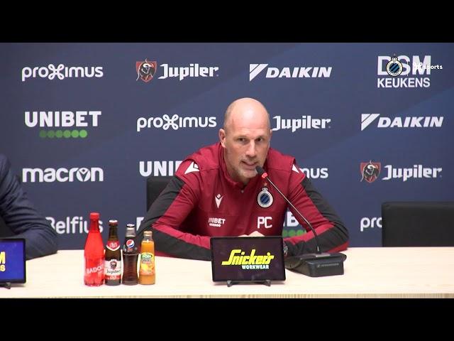#KVMCLU   DE PERSCONFERENTIE VOOR KV MECHELEN - CLUB BRUGGE   2019-2020
