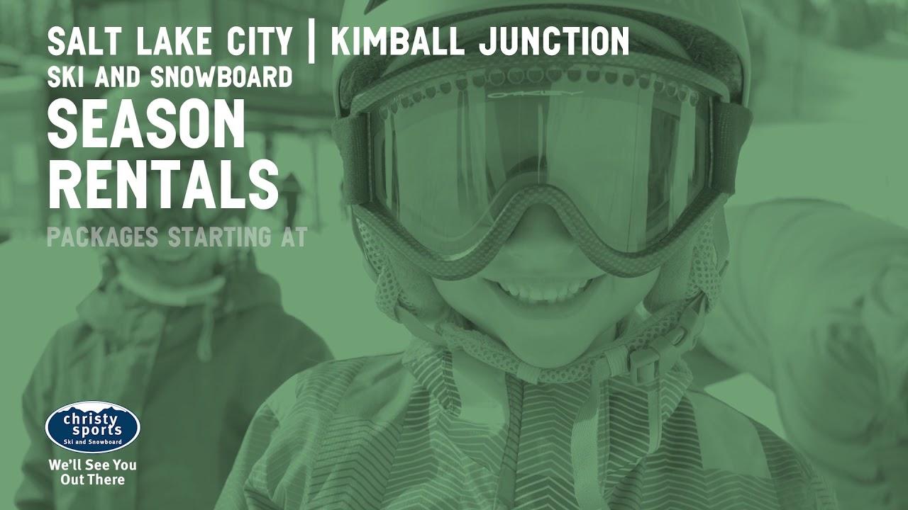 Christy Sports Utah Season Ski and Snowboard Rentals 2019