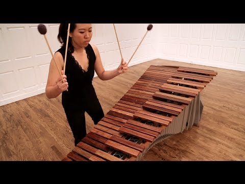 Six Concert Etudes for Marimba, by Peter Klatzow