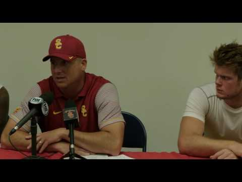 USC Football - Post-Game Presser after Arizona