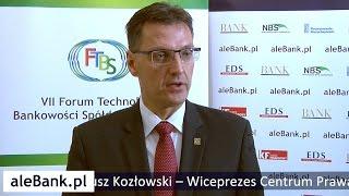 Dariusz Kozłowski – Centrum Prawa Bankowego