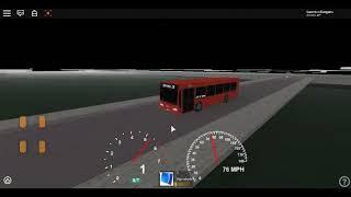 Roblox London Hackney & Limehouse bus Simulator ELC Esteem Dart GAL Route 108 Diverted (Diversion)