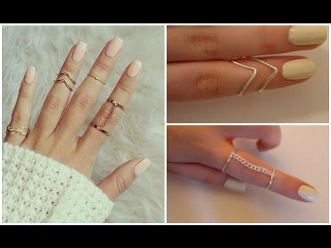 DIY easy rings ♡