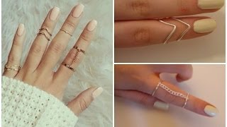 Diy Easy Rings ♡