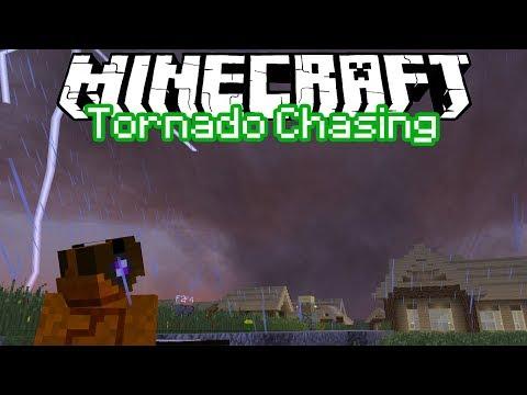 Minecraft: Tornado Chasers - Cobbleburg/Foxboro, Minecraftia Tornado Outbreak