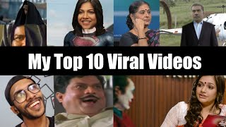 MY TOP 10 VIRAL VIDEOS | Atul Sajeev | Comedy Compilation