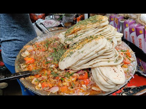 Ultimate Chole Kulche Making | India's Best Chole Kulche | Indian Street Food