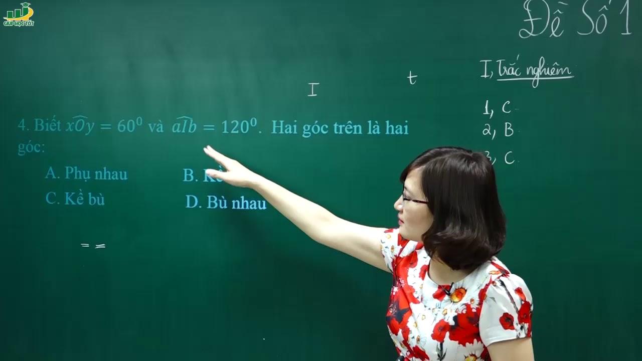 Toán lớp 6 – Đề thi môn TOÁN LỚP 6 GIỮA HỌC KÌ 2 –Đề số 1 (P1)|Ôn tập, kiển tra giữa học kì 2 lớp 6