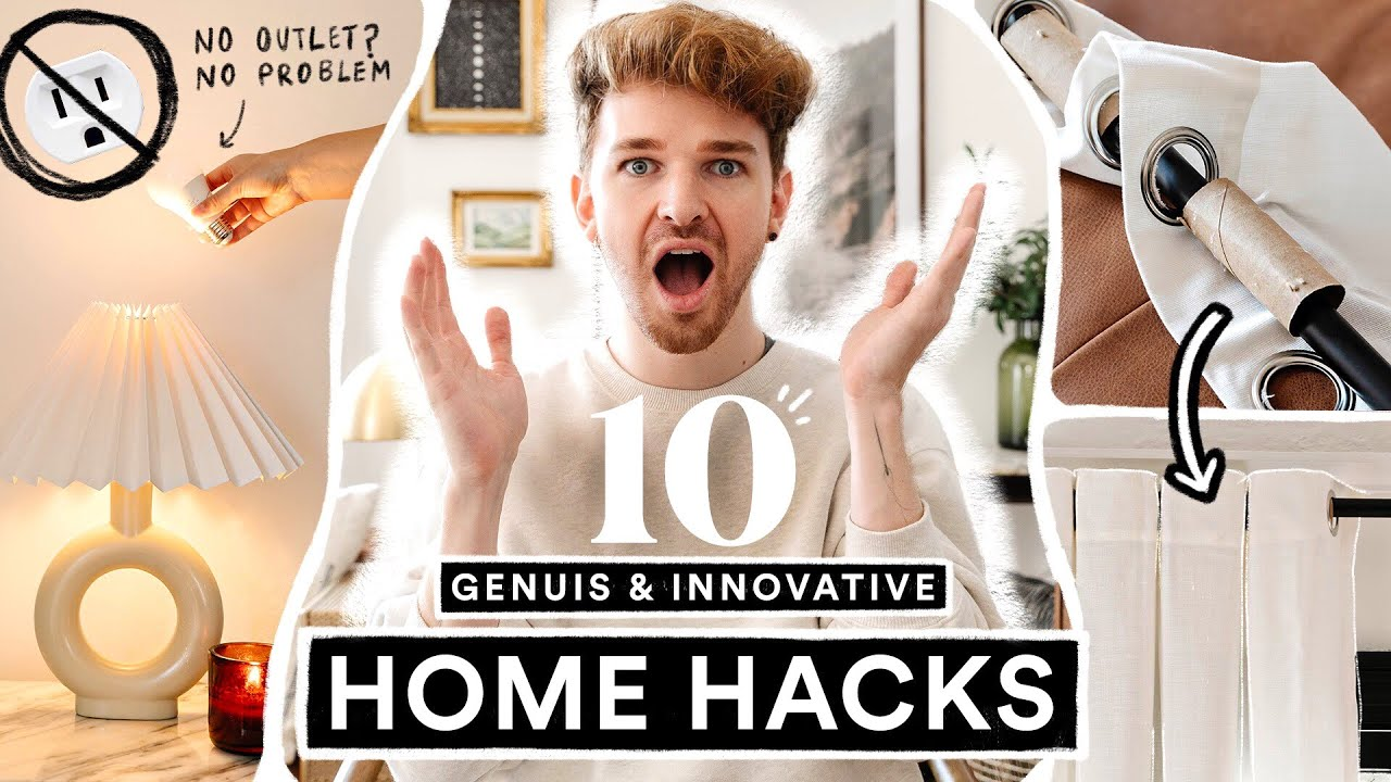10 GENIUS Home Hacks That CHANGED MY LIFE 🏠  Life Hacks to Save Time + Money!