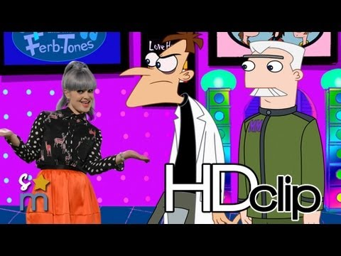 Phineas and Ferb Musical Cliptastic Countdown Hosted by Kelly Osbourne Clip