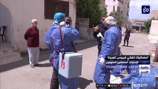 خمس إصابات بفيروس كورونا في الأردن (31/5/2020)