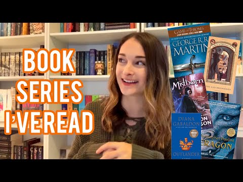 EVERY BOOK SERIES I'VE READ