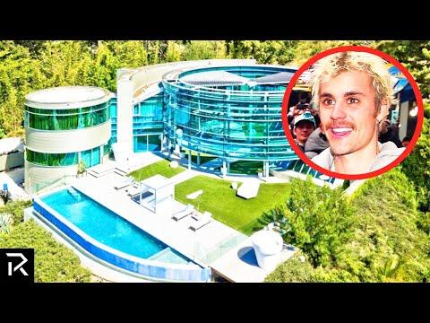 Inside Bieber's Ridiculous $100 Million Dollar Mansion