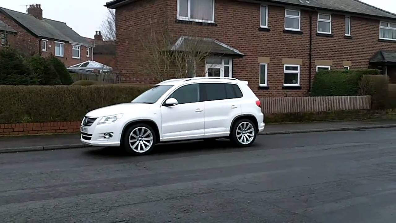 My Vw Tiguan R Line Tdi 170ps Youtube