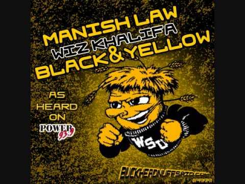 Manish Law Black & Yellow Shocker Nation Remix