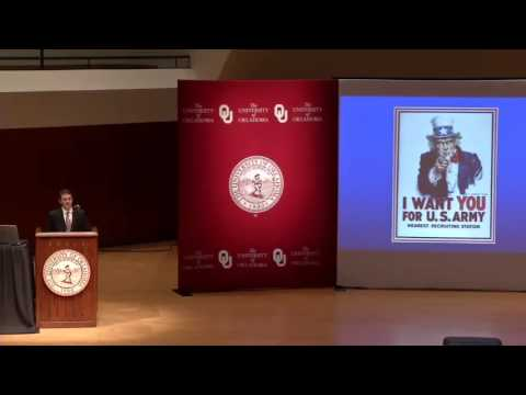 "Chris Capozzola: ""Uncle Sam Wants You: Oklahoma, WWI, and the Making of Modern America"""