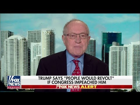 Dershowitz: Trump Wont Be Impeached Unless Massive New Information Comes Out
