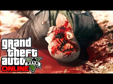 GTA 5 Online - First Person Zombies Apocalypse Mode (GTA 5 PS4 Gameplay)