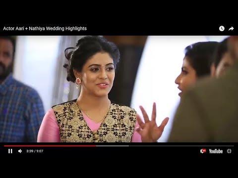 Actor Aari Nathiya Wedding Highlights