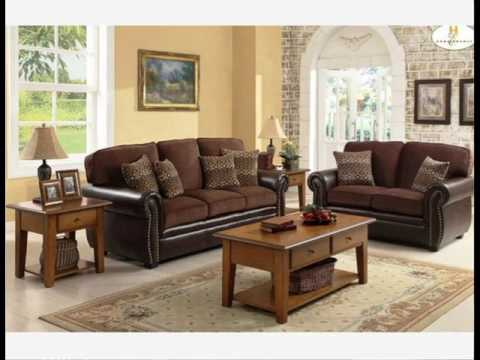 Chocolate Brown Couch Decorating Ideas - YouTube