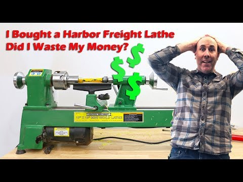 Should You Buy the Harbor Freight Mini Wood Lathe?