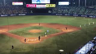 2018.8.17 ヤクルトスワローズ 対 阪神タイガース 神宮球場 5ウラ終了時...