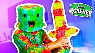 DIY FRUIT ROLL UP ARMOR!
