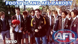 GUCCI GANG AFL PARODY (FOOTY SLANG OFFICIAL MUSIC VIDEO)