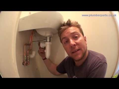 Ep6 Wash Basin Install - Install Waste Pipe and Test - Plumbing Tips