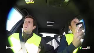 Los peligros de usar el móvil al volante
