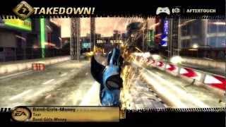Burnout Revenge Eastern Bay Race Long Forwards 720P gameplay Xbox 360 Crushinator achievement