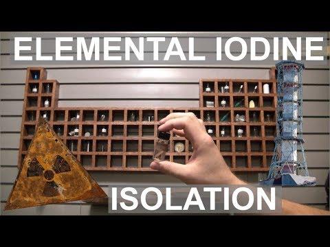Isolation Of Iodine - Elements Of Chernobyl - ElementalMaker