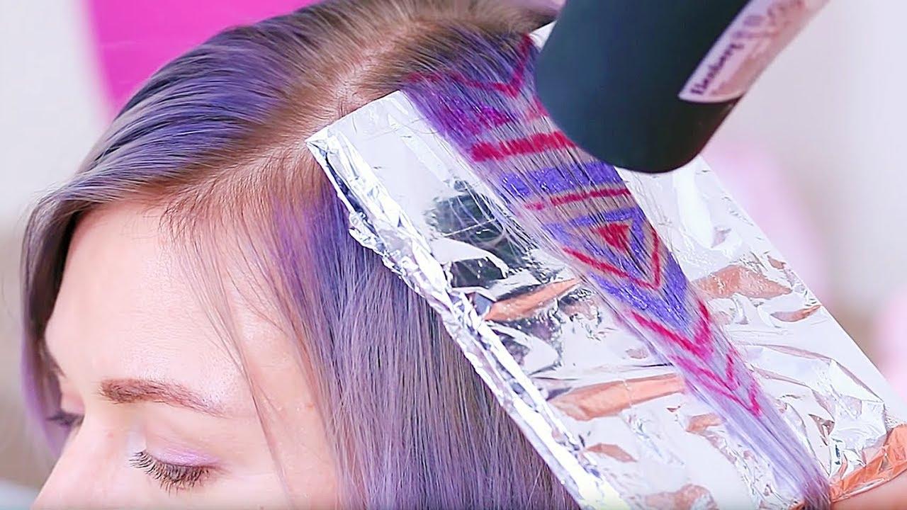 9 Coole 1 Minuten Frisuren Hacks Tricks Deine Haare Umwerfend