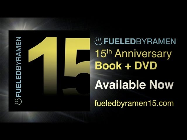 The Fueled By Ramen 15th Anniversary Book & DVD