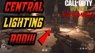 Call of Duty WW2 Zombies: Defend The Central Lightning Rod (BEST GUIDE)