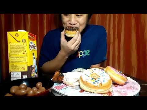 ASMR MAGNUM ICE CREAM (CLASSIC & ALMOND), DONUT FT. NESTLE CHUCKIE AND CADBURY CHOCOLATE