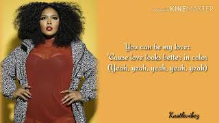 Lizzo - Better In Color (Lyrics)