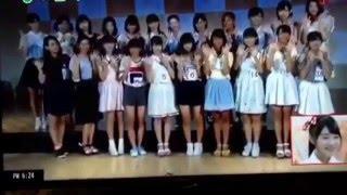 2016/1/6 ux NGT48特集 加藤美南 今村支配人 出演