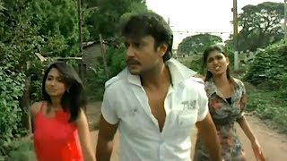 Darshan Save To Girls In Slum Area From Slum Rowdys | Darshan D boss