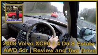 Virtual Video Test Drive In Our Volvo XC90 2 4 D5 S Estate AWD 5dr