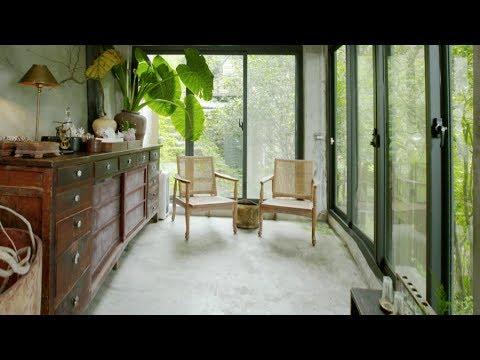 設計|他單身時住3000㎡的山谷,婚後一家三口住進40年森林老宅
