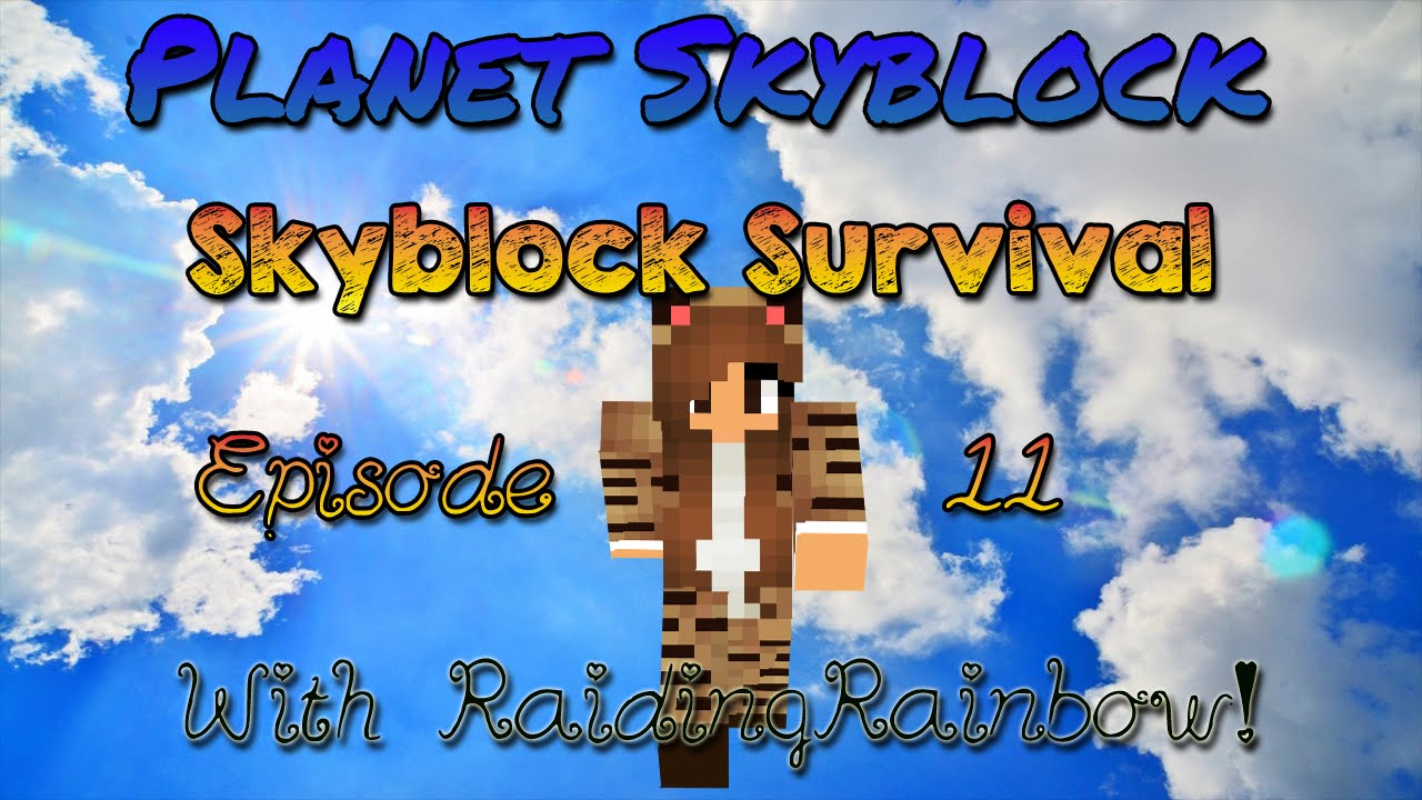 SkyBlock Survival Ep. 11 w/ RaidingRainbow! ☆ Finishing Shop ☆