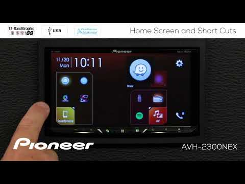 How To - Home Screen And Short Cuts On Pioneer AVH-EX In Dash Receivers 2018