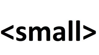 Learn Html Code Small Text