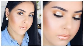 Long Lasting Summer Makeup Tutorial | Nelly Toledo
