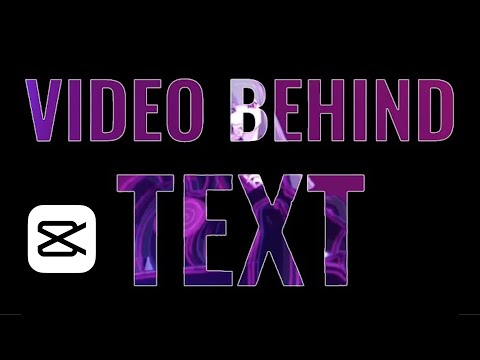 Video Editing Tip: How to Create Video Behind Text Effect on CapCut