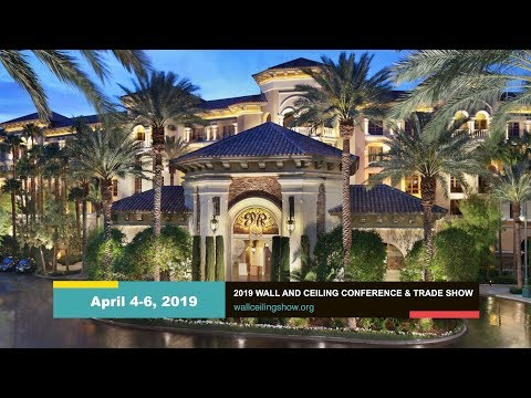 2019 Wall and Ceiling Conference and Trade Show in Las Vegas