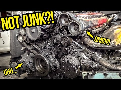 Here's Why I'm NOT Throwing Out My Cheap Ferrari's Burnt Engine (IT'S A MIRACLE!)